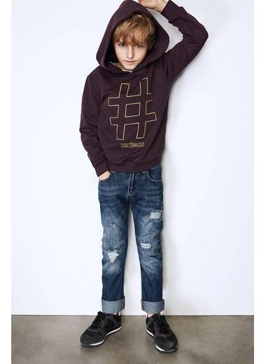 Nebbati Erkek Çocuk Jean Pantolon Mavi